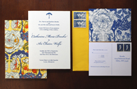 Liberty Cotton Invitation